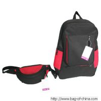 TL-312 2 in 1 Sets Waist Bag /Handbags With Red and Black Design